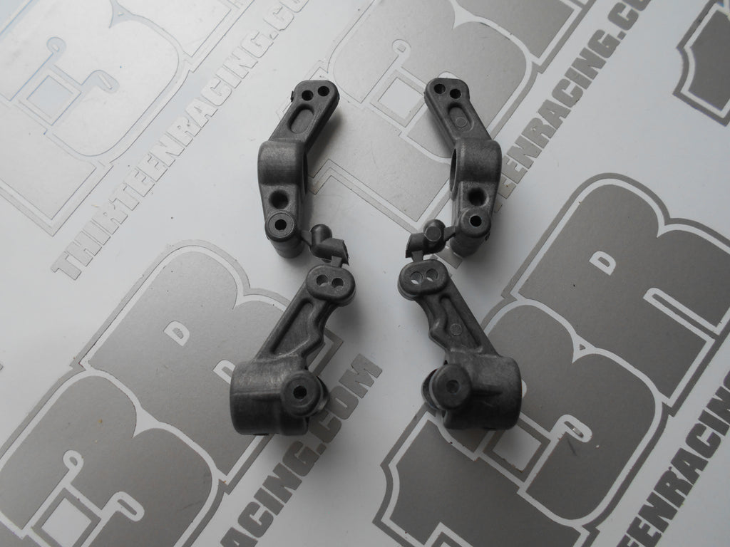 Team Associated TC4 Carbon Front & Rear Hub Carriers - New Loose, # 31005