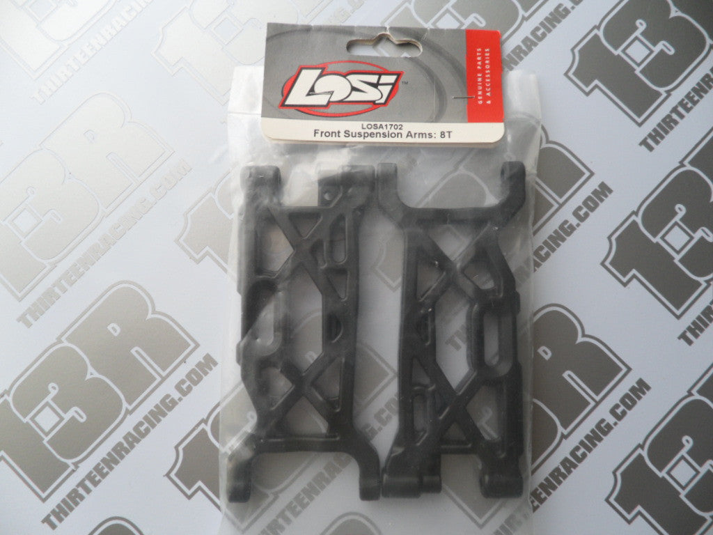 Team Losi 8T Front Suspension Arms (Pr), LOSA1702
