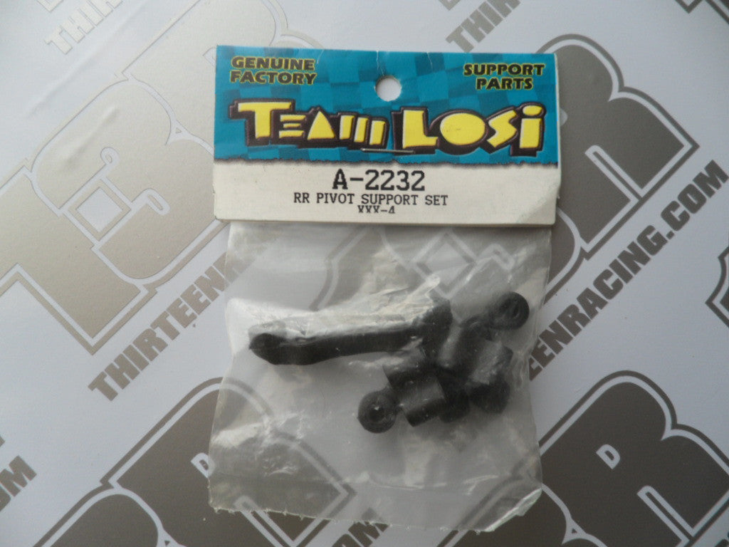 Team Losi XXX4 Rear Pivot Support Set, A-2232