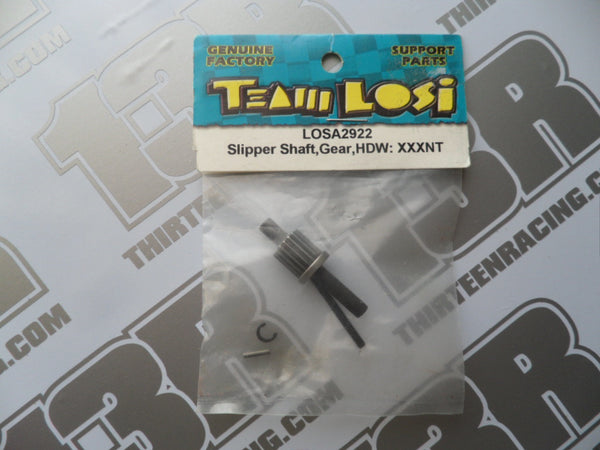 Team Losi XXX-NT Slipper Shaft, Gear & Hardware Set, LOSA2922