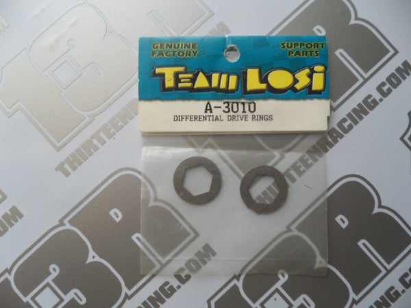 Team Losi JRX2/JRX Pro/Pro SE Differential Hex Drive Rings (2pcs), A-3010