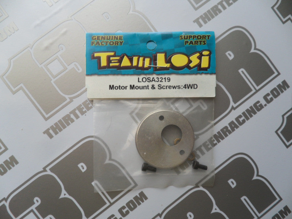 Team Losi XX4/Street Weapon Motor Mount & Screws, LOSA3219