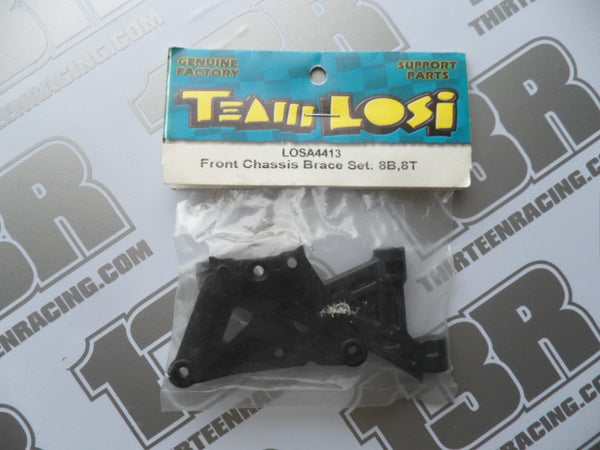 Team Losi 8B/8T Front Chassis Brace Set, LOSA4413