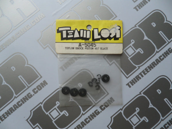 Team Losi Teflon Shock Pistons - #57 Black, A-5045