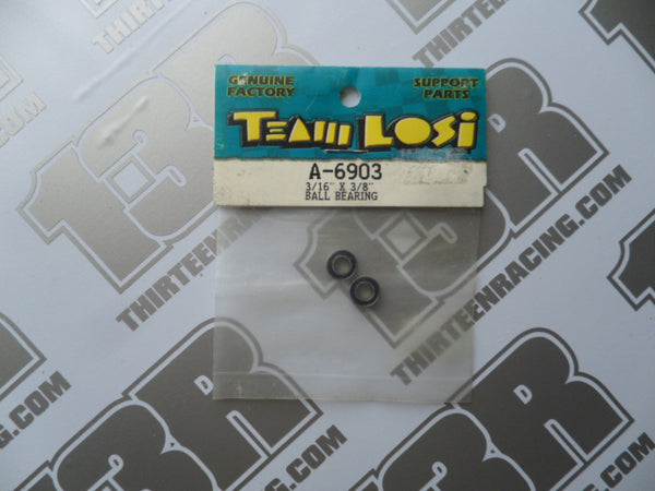 "Team Losi 3/16"" x 3/8"" Ball Bearings (2pcs), A-6903"