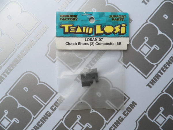 Team Losi 8B Composite Clutch Shoes (2pcs), LOSA9107