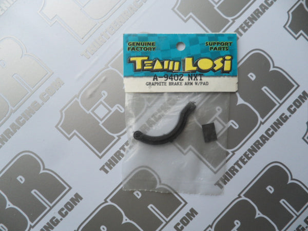 Team Losi NXT/GTX Graphite Brake Arm & Pad, A-9402