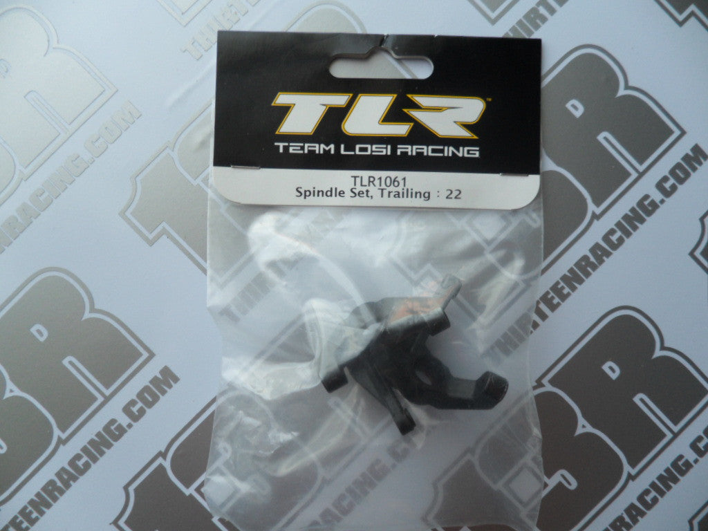 TLR 22 Spindle Set - Trailing. TLR1061