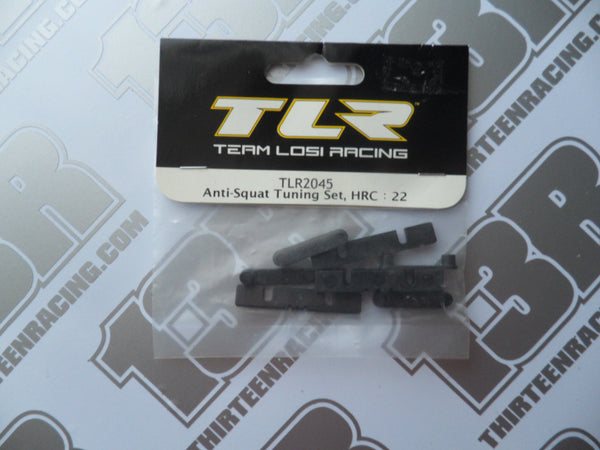 TLR 22/22T/22SCT Anti Squat Tuning Set - HRC, TLR2045