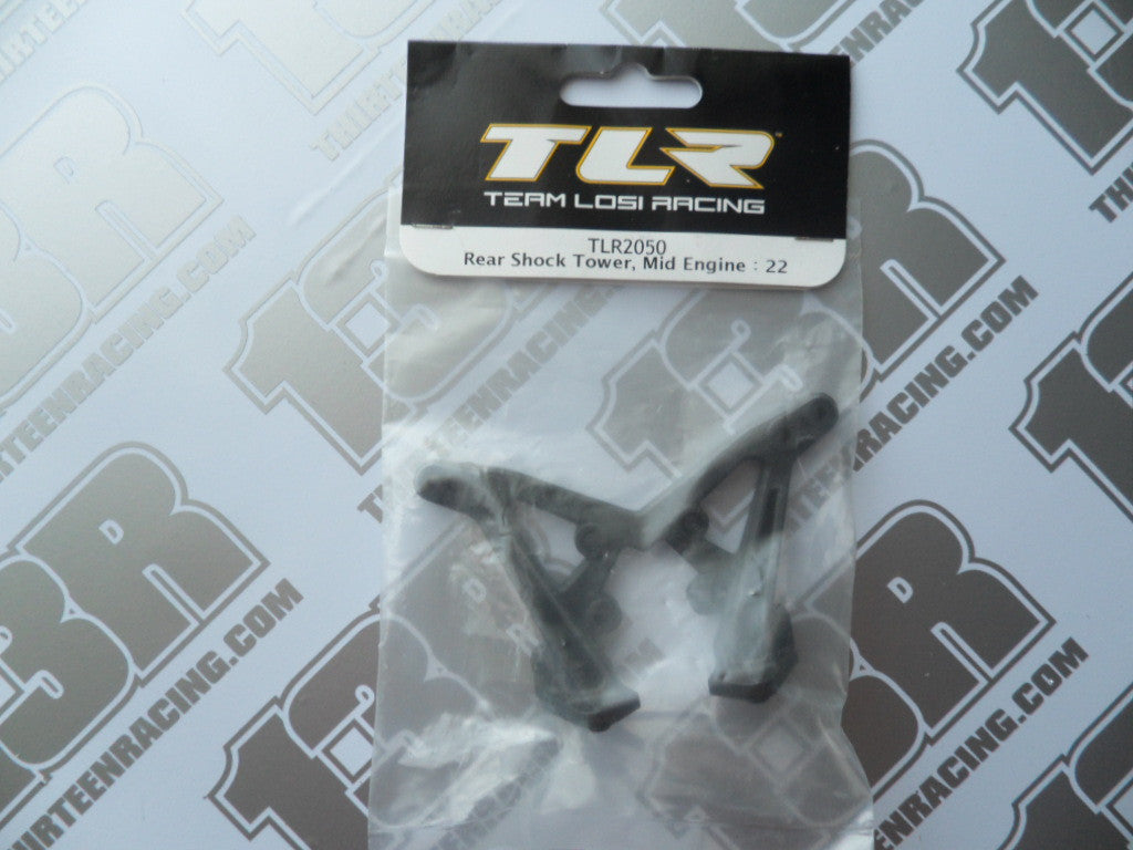 TLR 22/2.0 Rear Shock Tower - Mid Motor, TLR2050