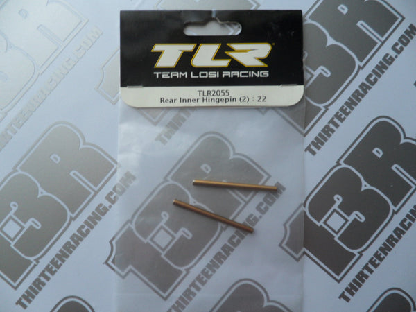 TLR 22/T/SCT Rear Inner Hinge Pins (2pcs), TLR2055
