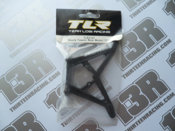 TLR 22T/SCT Rear Shock Tower - Rear Motor, TLR2101, 2.0