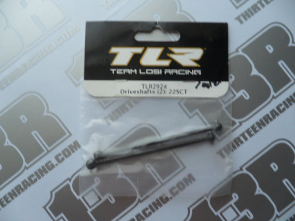 TLR 22-SCT Driveshafts (2pcs), TLR2924
