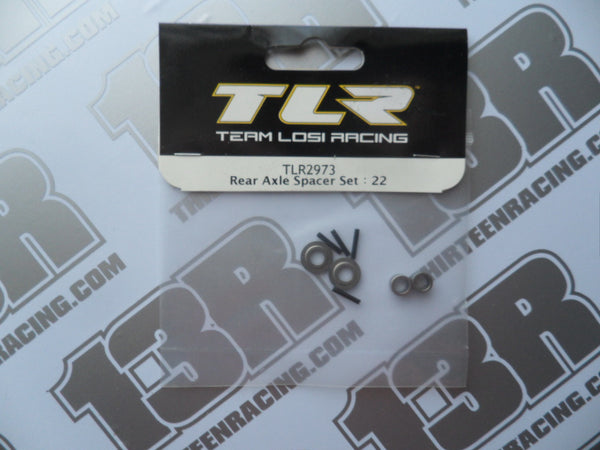 TLR 22/T/SCT Rear Axle Spacer Set, TLR2973
