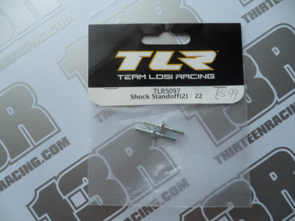 TLR 22/T/SCT/22-4 Shock Standoffs (2pcs), TLR5097, 2.0, 3.0