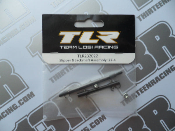 TLR 22-4 Slipper & Jackshaft Assembly, TLR232022, 2.0