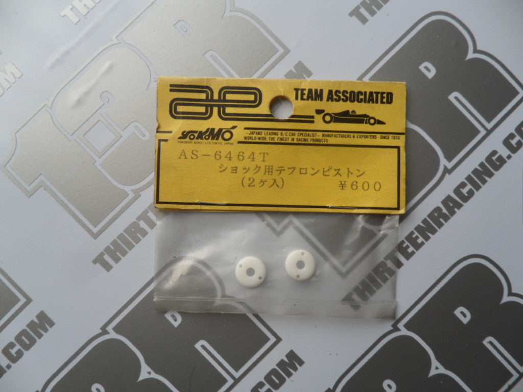 Team Associated RC10 Tapered Shock Pistons #2 (2pcs) #6464T (small bore)