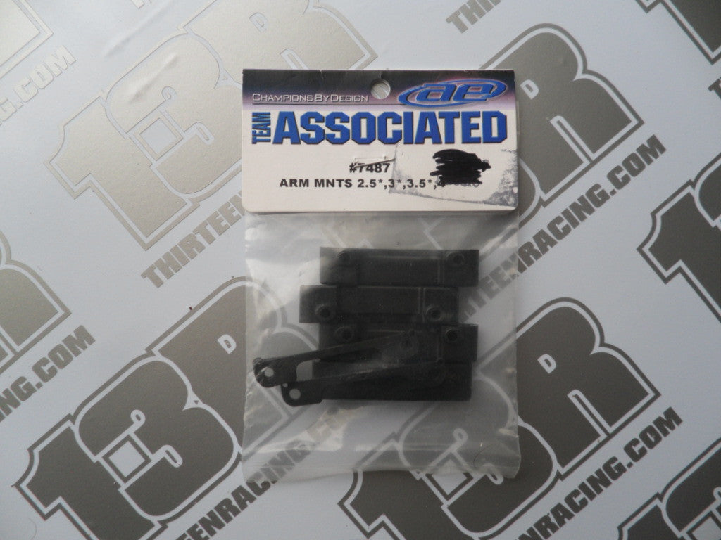 Team Associated B4/T4/SC10 Factory Team Rear Arm Mounts, #7487