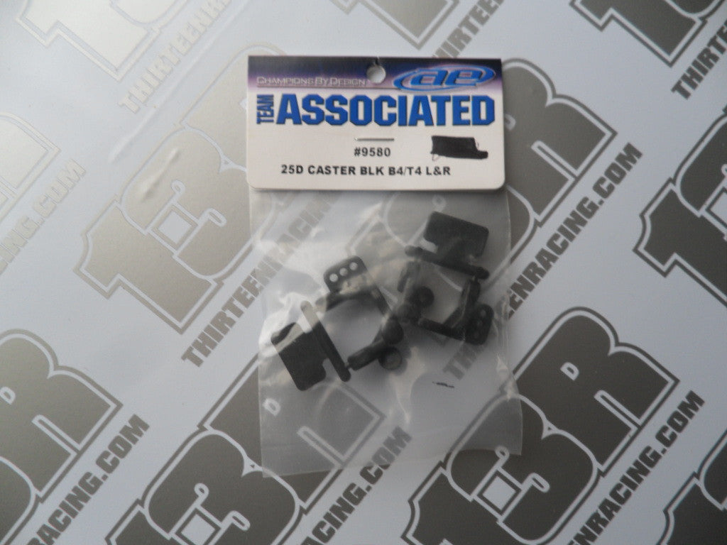 Team Associated B4/T4/SC10 25 Degree Caster Blocks (Pr), #9580