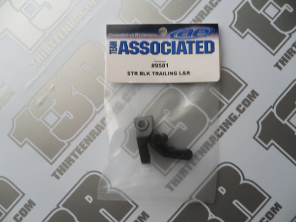 Team Associated B4/T4/SC10 Steering Blocks - Trailing (Pr), #9581