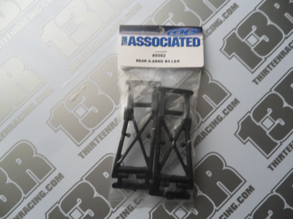 Team Associated B4 Rear Suspension Arms (Pr), #9582, B4.1, B4.2