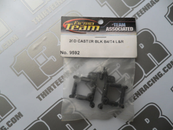 Team Associated B4/T4/SC10 Factory Team 20 Degree Caster Blocks, #9592
