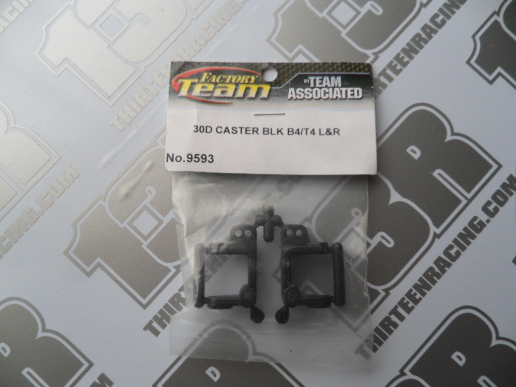 Team Associated B4/T4/SC10 Factory Team 30 Degree Caster Blocks, #9593