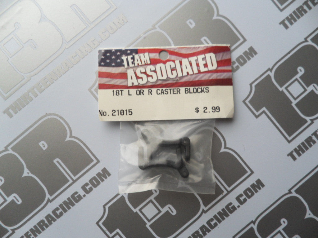 Team Associated RC18 Left Or Right Caster Blocks, #21015, RC18T, SC18