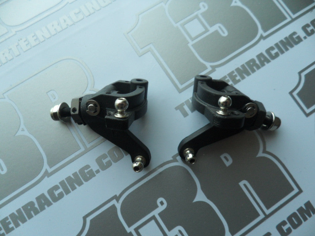 Team C TM2 Front Hubs/Carriers/Axles & Hexes - Used, v2, TM2SC, TC02