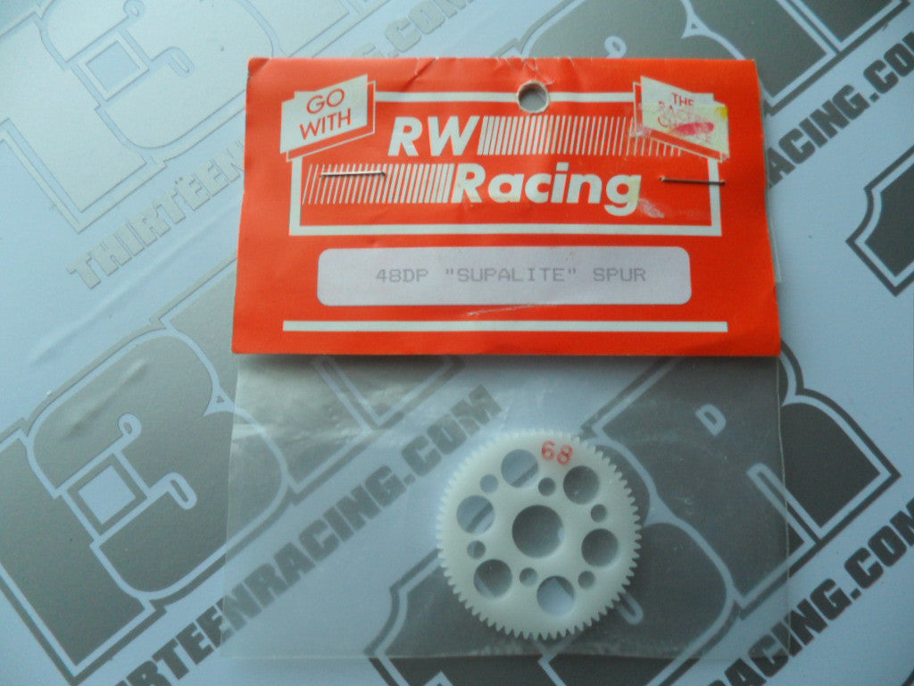 "RW Racing 68T 48dp ""Supalite"" Spur Gear"