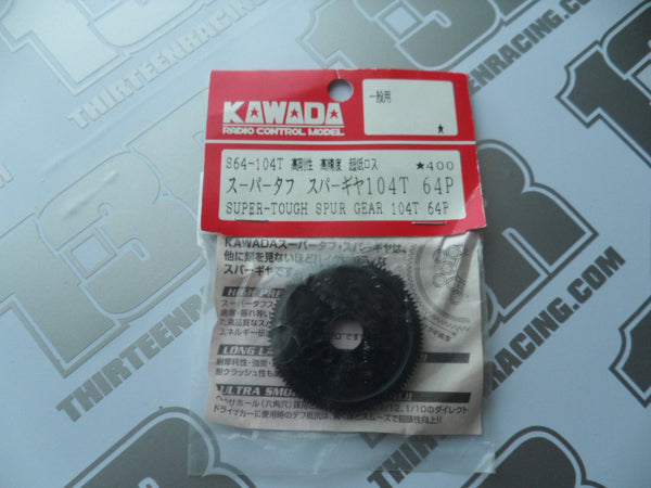 Kawada 104T 64dp Super Tough Spur Gear, S64-104T