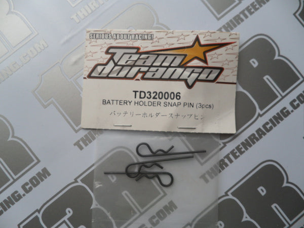 Team Durango DEX410 Battery Holder Snap Pin (3pcs), TD320006, DESC410