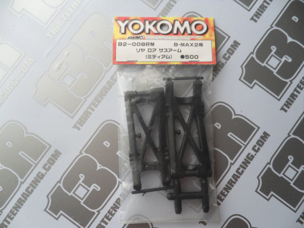 Yokomo B-Max 2 Rear Suspension Arms (Pr), B2-008RM