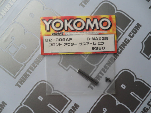 Yokomo B-Max 2 Front Outer Suspension Pins (2pcs), B2-009AF, YZ-2