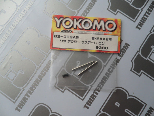 Yokomo B-Max 2 Rear Outer Suspension Pins (2pcs), B2-009AR, YZ-2, YZ-4, B-Max 4