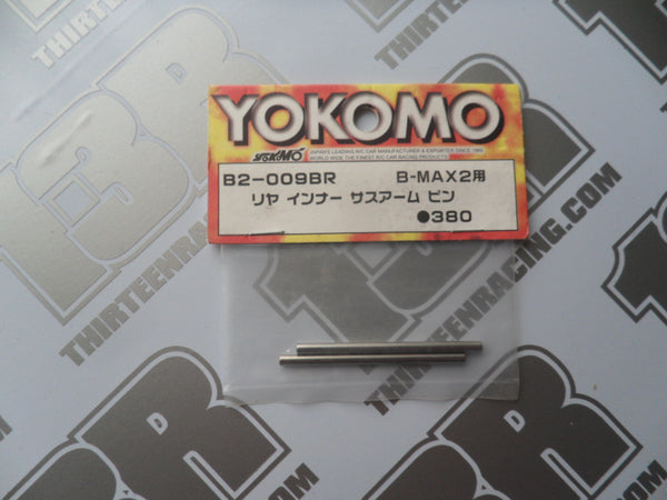 Yokomo B-Max 2 Rear Inner Suspension Pins (2pcs), B2-009BR