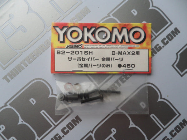 Yokomo B-Max 2 Servo Saver Metal Parts, B2-201SH