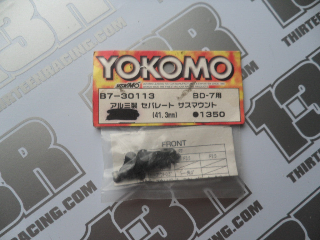 Yokomo BD-7 Aluminium Separate Suspension Mounts, 41.3mm, B7-30113