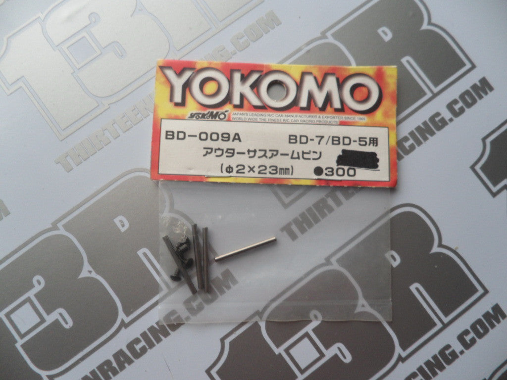 Yokomo BD-5/BD-7 Outer Suspension Arm Pins (4pcs), BD-009A