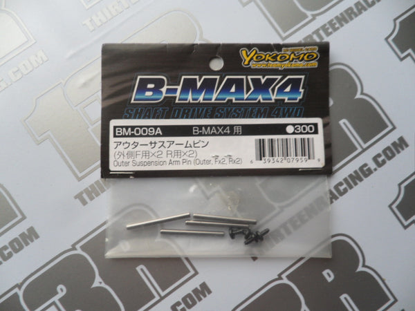 Yokomo B-Max 4 Outer Suspension Arm Pins (F&R), BM-009A