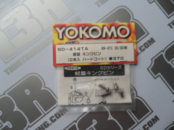 Yokomo MR-4TC BD/SD Lightweight King Pin Set, SD-414TA