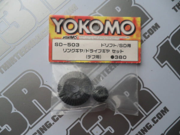 Yokomo MR-4TC SD Ring/Drive Gear Set, SD-503
