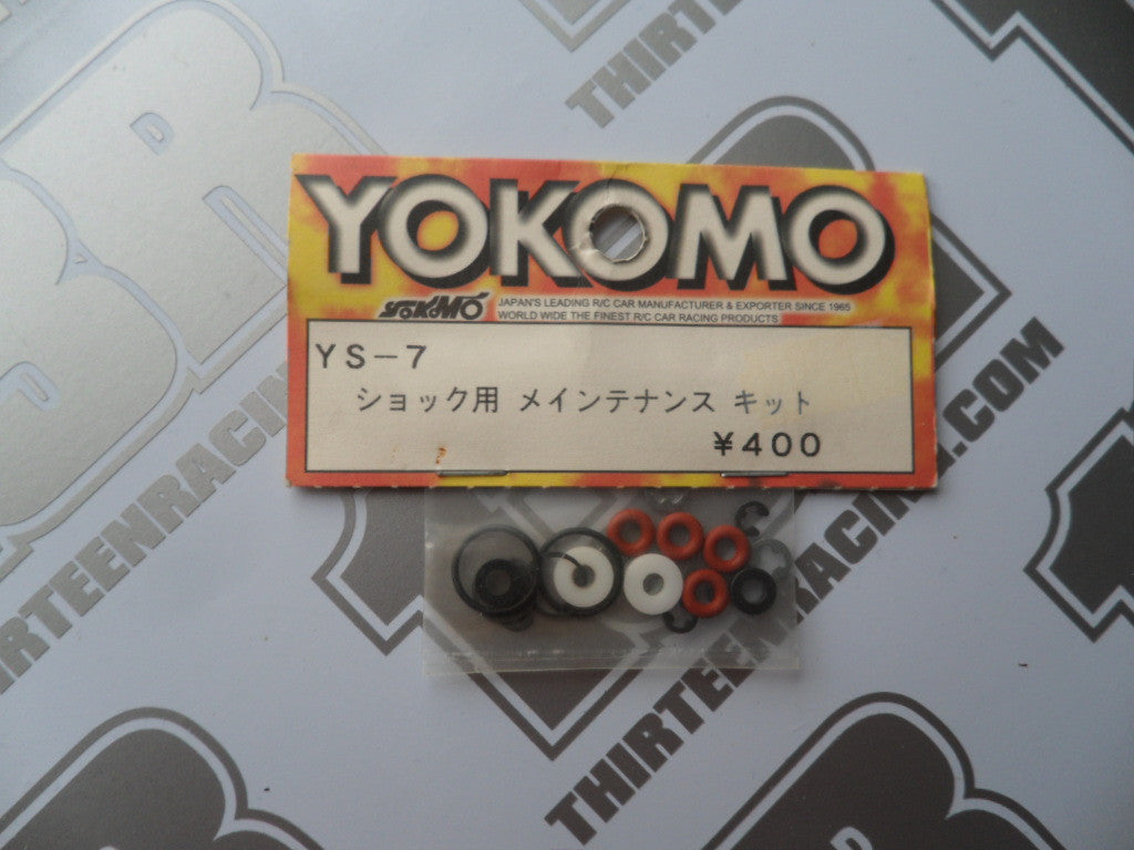 Yokomo Shock Seal Rebuilt Kit (For 2 Shocks), YS-7