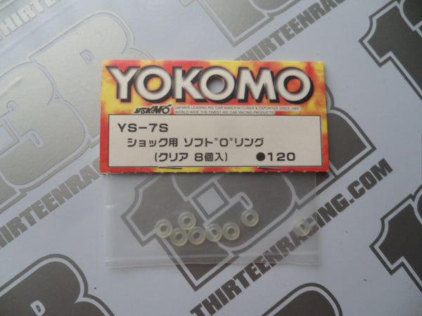 Yokomo Shock Seal O-Rings - Thick Soft (8pcs), YS-7S