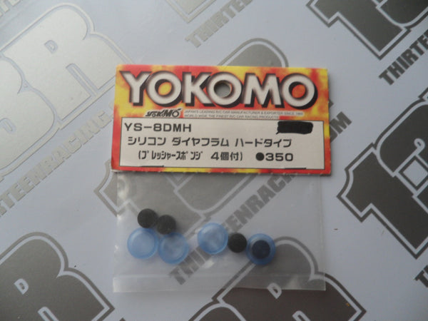 Yokomo Shock Absorber Hard Type Diaphragm & Inserts Set, YS-8DMH