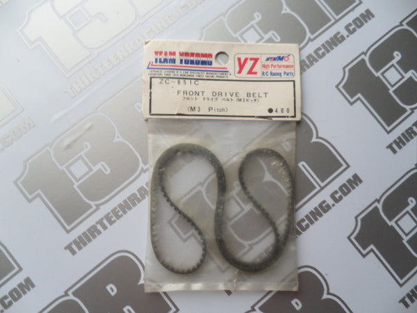 Yokomo YZ-10 Works Front Drive Belt (M3 Pitch), ZC-651C, 870C