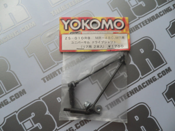 Yokomo MR-4 BC Rear Universal Joint Driveshafts (Pr), ZS-010RB, MR-4 MT
