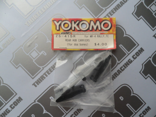 Yokomo MR-4 TC Rear Hub Carriers For Dogbones, ZS-415R, MR-4 Rally