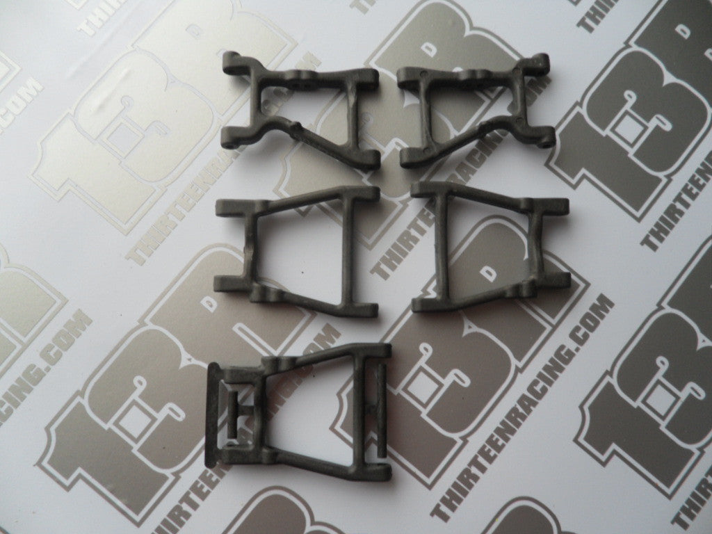 Team Losi Front & Rear Suspension Arms, Graphite - Used, Rally Weapon