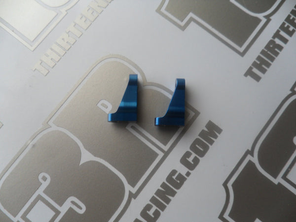 Team Associated FT Blue Aluminum Servo Mounts (Pr) - Used, # 1779, Various Models